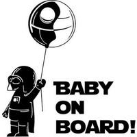 Solfera Darth Vader Star Wars Bebek Siyah Baby On Board Cs044
