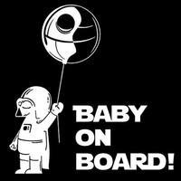 Solfera Darth Vader Star Wars Arabada Bebek Var Baby On Board Cs045
