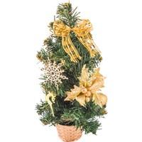 KullanAtMarket Mini Altın Yılbaşı Çam Ağacı 30 cm