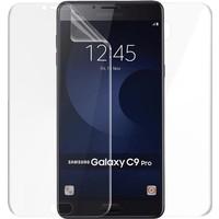 Microsonic Samsung Galaxy C9 Pro Ön + Arka Kavisler Dahil Tam Ekran Kaplayıcı Film