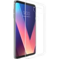 Microsonic LG V30 Kılıf Transparent Soft