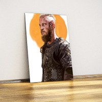 Ragnar Lothbrok - Metal Poster (Vikings)