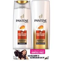 Pantene Saç Dökülmelerine Karşı Etkili 360 ml Şampuan + 360 ml Saç Bakım Kremi