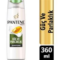Pantene Şampuan Doğal Sentez Güç ve Parlaklık 360 ml