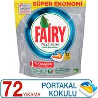 Fairy Platinum Bulaşık Makinesi Deterjanı Kapsülü Limon Kokulu 72 Yıkama