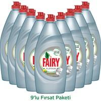 Fairy Platinum Sıvı Bulaşık Deterjanı Limon 870 ml 9'lu