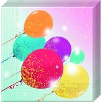 Simli Balonlar Peçete