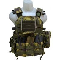 Ktm Çetin Yılmaz 87 Taktik Avcı Hücum Yeleği Açık Cep Model2 Kamuflaj