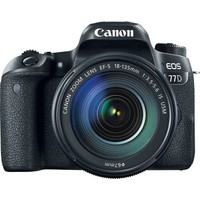 Canon Eos 77D 18-135mm IS USM Nano Lens Kit