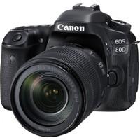 Canon Eos 80D 18-135mm IS USM Nano Lens Kit