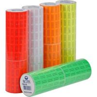 Proteks Fiyat Et. M. Etiketi 600Lü Fosforlu Sarı 10 Adet