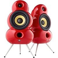 Podspeakers Smallpod Bluetooth (2li Set) Kırmızı Hoparlör