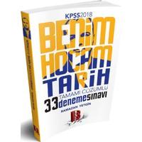 2018 Kpss Tarih Tamamı Çözümlü 33 Deneme Benim Hocam Yayınları