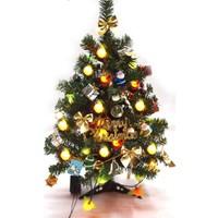Mini Yılbaşı Ağacı Işıklı 60 CM Mini Noel Süslemesi