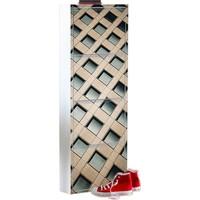 Kaser 4 Lü Metal Ayakkabılık Modelleri Dijital Baskılı 4B21