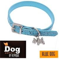 Kemique Taşlı Boyun Tasması - Collar By Kemique - Mavi