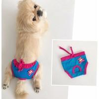 Kemique Mavi Teddy Kemique'S Secret Köpek İç Çamaşırı Regl Külot Don