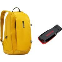 Thule Enroute Notebook Laptop Sırt Çanta 13 inç CA.TEBP213MKO + Sandisk 32GB Cruzer Blade USB Bellek