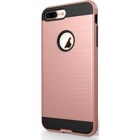 Gpack Apple iPhone 8 Kılıf Verus Sert Silikon Kılıf Bronz