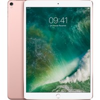 "Apple iPad Pro Wi-Fi Cellular 64GB 10.5"" FHD 4G Tablet - Rose Gold MQF22TU/A"