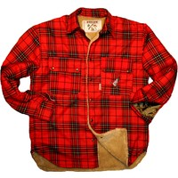 Av Gömleği-04 203 Skoç Gömlek+Peluş Astarlı
