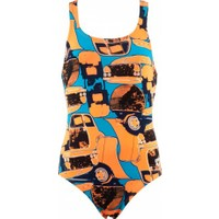 Arena 1A37933 Mechanic Swim Pro Kız Çocuk Mayo