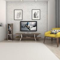 Mars Mobilya Sinerji Ceviz - Beyaz Tv Ünitesi