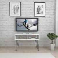 Mars Mobilya Point Beyaz Tv Sehpası