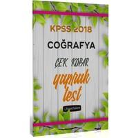 Beyaz Kalem 2018 KPSS Coğrafya Çek Kopar Yaprak Test