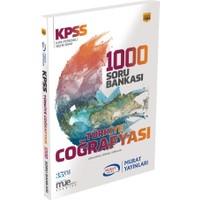 Murat 2018 KPSS Türkiye Coğrafyası 1000 Soru Bankası Çözümlü