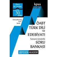 Pegem 2018 ÖABT Türk Dili Ve Edebiyatı Soru Bankası Çözümlü