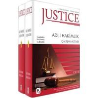 Kuram Justice Adli Hakimlik Çalışma Kitabı 2 Cilt