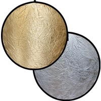 Raypro 110cm Profesyonel 2 in 1 Gold Silver Işık Yansıtıcı Reflektör