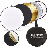 Raypro 60cm Profesyonel 5 in 1 Işık Yansıtıcı Reflektör Seti