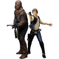 Star Wars: Han Solo & Chewbacca Artfx+ Statue 1/10