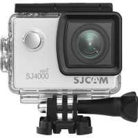 SJCAM SJ4000 Wi-Fi Full HD Aksiyon Kamerası - Gümüş