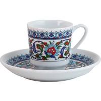 Kütahya Porselen Topkapı Türk Kahvesi Fincanı Takımı