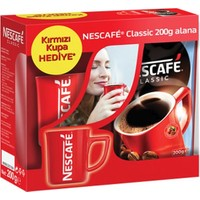 Nescafe Classic Hazır Kahve 200 gr + Kupa