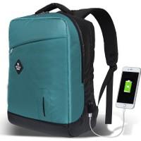 My Valice Smart Bag Energy Usb Şarj Girişli Akıllı Sırt Çantası Turkuaz