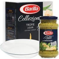 Barilla Trofie Makarna - Pesto Genovese Sos + Paşabahçe Servis Tabağı