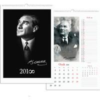 Keskin Color 32*47 12 Yaprak Spr.Duvar Takvimi-Atatürk