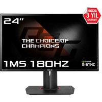 "Asus ROG Swift PG248Q 24"" 180Hz 1ms (HDMI+Display) Nvidia G-Sync Full HD Oyuncu Monitör"