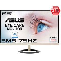 "Asus VZ239Q 23"" 75 Hz 5ms (Display+HDMI+D-SUB) FreeSync FHD IPS Ultra İnce Oyuncu Monitör"