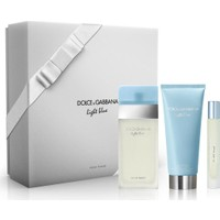 Dolce Gabbana Light Blue Femme Edt 100 Ml Kadın Parfüm + 7.4 Ml + 100 Ml Vücut Kremi Set
