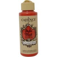 Cadence Ateş Kırmızı Style Matt Akrilik Boya 120 ml