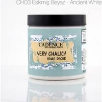 Cadence Eskimiş Beyaz - Very Chalky Mobilya Boya 500 ml