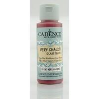 Cadence Mercan Kırmızı - Very Chalky Enamel Cam Seramik Boya 59 ml