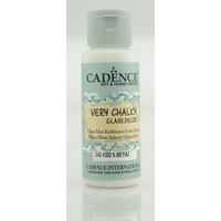 Cadence S. Beyaz - Very Chalky Enamel Cam Seramik Boya 59 ml