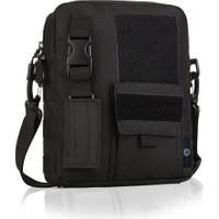Protector Plus Taktik Tablet Çantası - Siyah