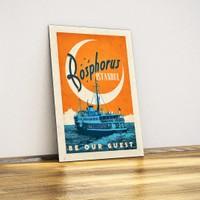 Javvuz Bosphorus - Metal Poster